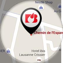 Map Biokema SA - Dépôt